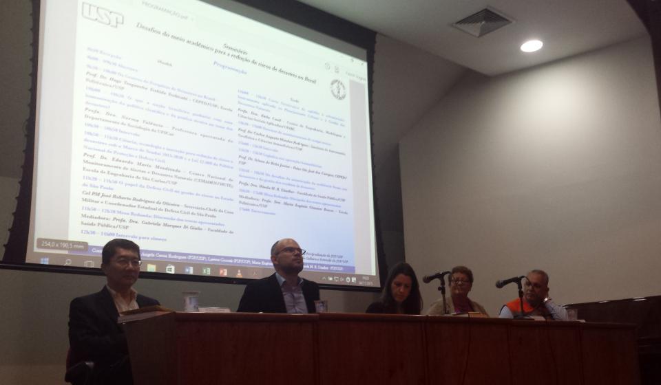 Seminário Desafios do Meio Acadêmico para a Redução de Riscos de Desastres no Brasil (2)